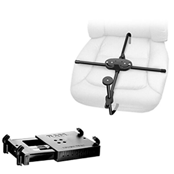 RAM Seat-Mate System With Tough Tray Universal Laptop Mount