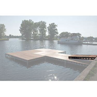 Dock 2 GO Stationary 4' x 8' Ramp Kit