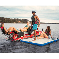 Overton's Inflatable Floating Dock, 8' x 5' x 6""