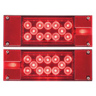 Optronics Red LED Combination Tail Light Kit, 18-22 LED