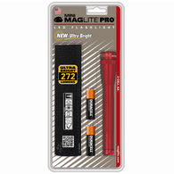 Mag Instruments Mini Maglite Pro 2AA LED Flashlight, Red