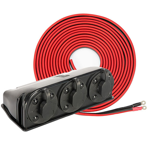 Zamp Solar Pre-Wire Kit for Roof Mount Panels