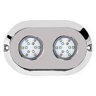 Marine Sport HydroBLAST 2-POD Underwater 120W LED Lighting System, RGB Multi-Color