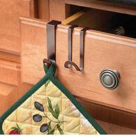 Bronze Over Cabinet/Drawer Hook, Set of 2