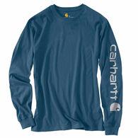 Carhartt Men's Signature Logo Long-Sleeve Tee