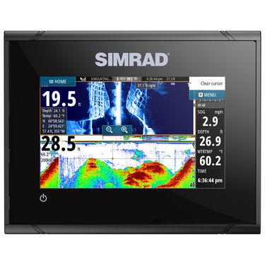 Simrad GO5 XSE Fishfinder Chartplotter With Basemap and HDI Transducer