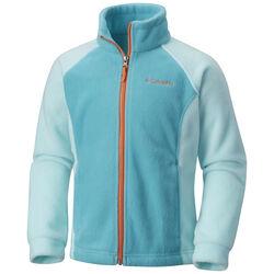 Columbia Girls' Benton Springs II Full-Zip Fleece Jacket + 12-Pack Fishing Crappie Tubes