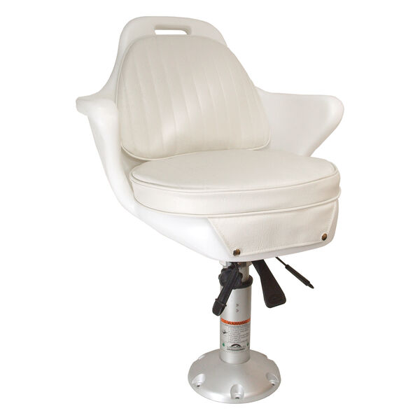 Springfield Bluewater Chair Package With Locking Slide, White