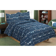 "My Favorite Place 3-Piece RV Comforter Set, King/RV King, 102"" x 86"""