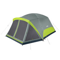 Coleman Skydome 8-Person Camping Tent With Screen Room, Rock Gray