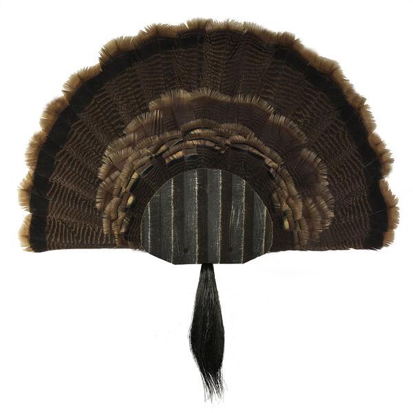 Walnut Hollow Metal Turkey Mounting Kit, Black