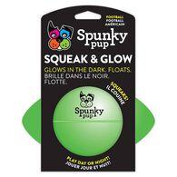 Spunky Pup Squeak & Glow Football