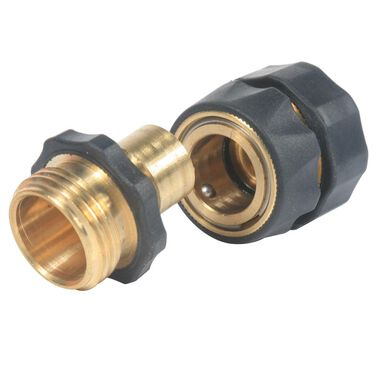Brass Quick Connect Fitting