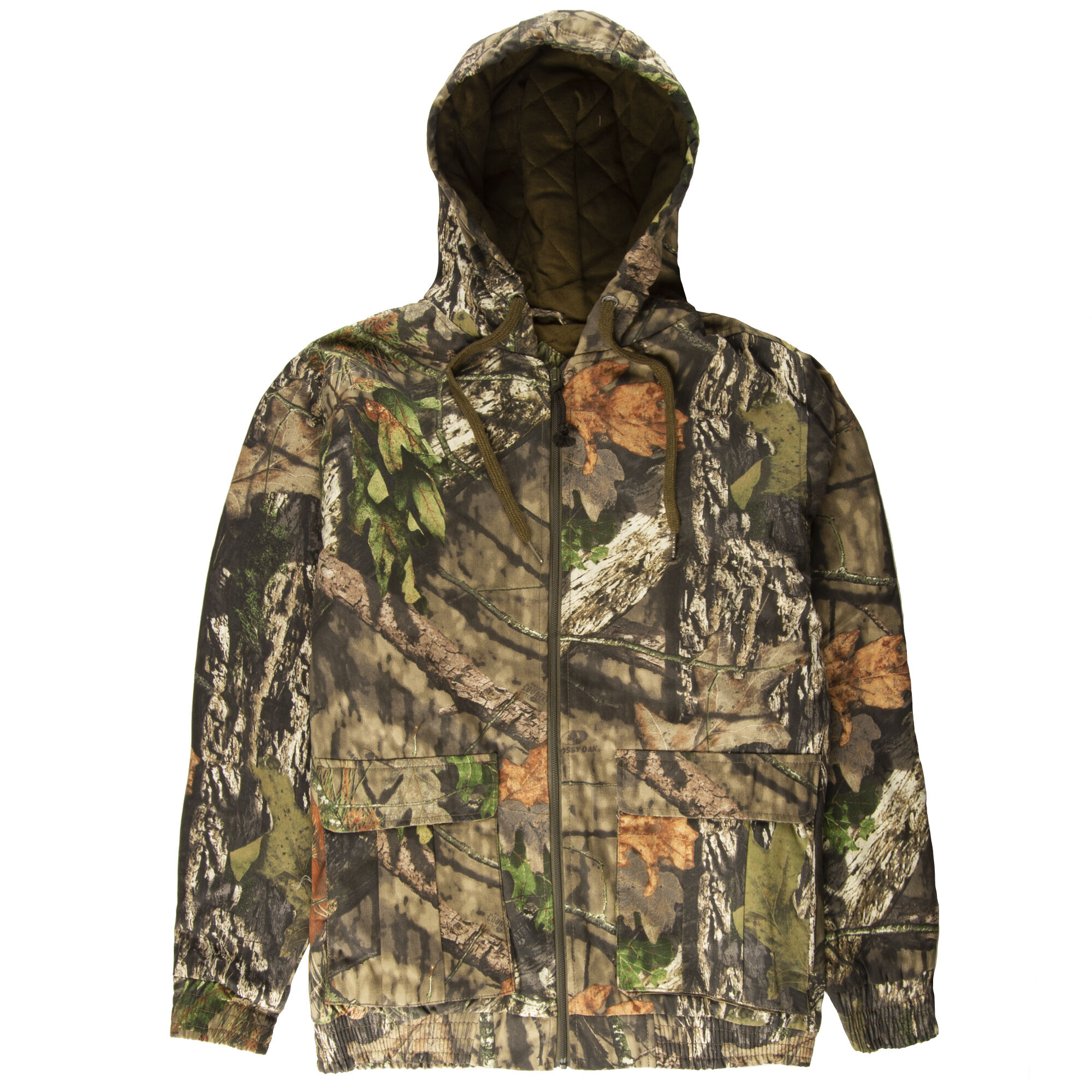 Columbia Mens Stealth Shot III Softshell Jacket Polyester Mossy Oak Break-Up Country Camo Large