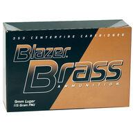 Blazer Brass Handgun Ammo Bulk Pack, 9mm Luger, 115 gr., FMJ, 350 Rounds