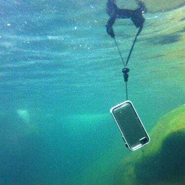 Catalyst iPhone Case Floating Lanyard
