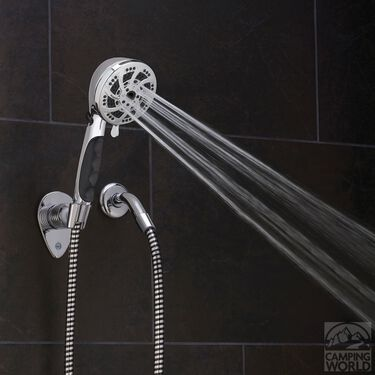 Fury RV Shower Kit, Chrome