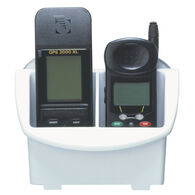BoatMates Nautical Storage Solutions GPS/Cell Phone Caddy, White