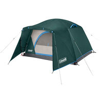 Coleman Skydome 2-Person Camping Tent with Full-Fly Vestibule, Evergreen