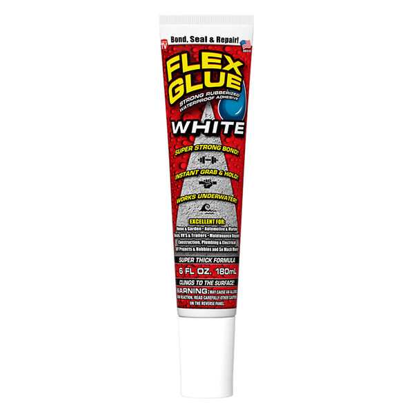 Flex Glue, 6 oz., White