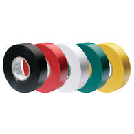 Ancor Premium Electrical Tape, 5-Pack, Assorted Colors