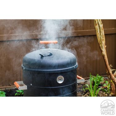 Southern Country Charcoal 2-In-1 Smoker