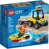 LEGO City Beach Rescue ATV Playset