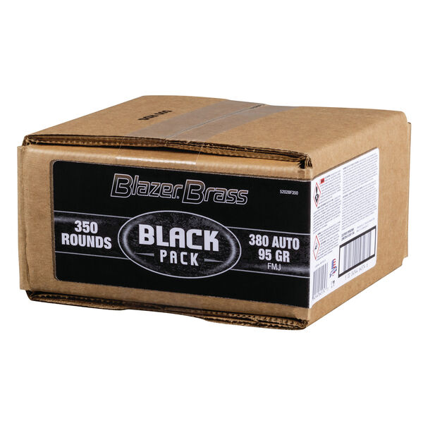 Federal Black .380 ACP Blazer Brass Box (350ct)