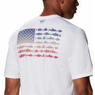 Columbia Men's PFG Fish Flag Short-Sleeve T-Shirt
