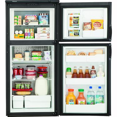 Dometic New Generation RM3762 2-Way Refrigerator, Double Door, 7.0 Cu. Ft.