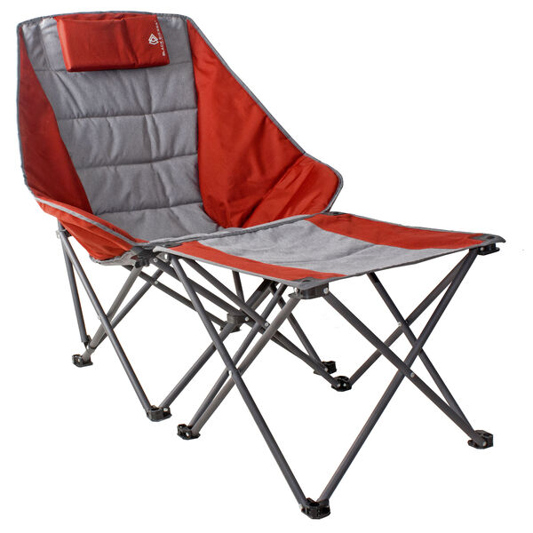 Black Sierra Scoop Quad Chair