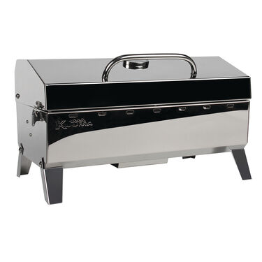 Kuuma Stow N' Go 160 Gas Grill - 13,000BTU w/Regulator, Thermometer