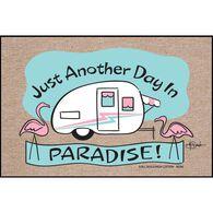 """Day in Paradise Door Mat, 18"""" x 27"""""""