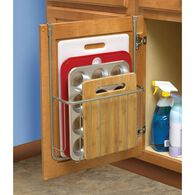 Over-Cabinet Rack for Cutting Board and Bakeware
