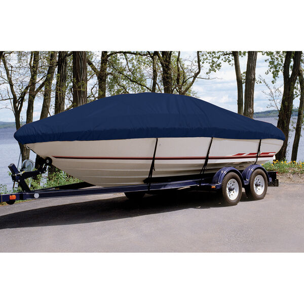 Custom Fit Ultima Solution Dyed Polyester Boat Cover For SEA RAY 210 BOWRIDER