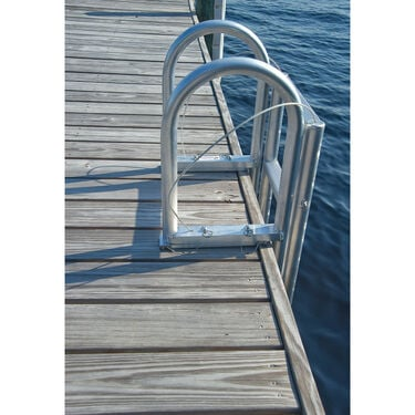 International Dock Standard-Step Dock Lift Ladder, 3-Step