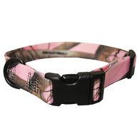 "Scott Pet Adjustable Nylon Collar, X-Large, 1""W x 18-26""Dia., Pink Realtree"