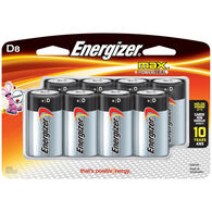 Energizer MAX D Batteries, 8-Pack