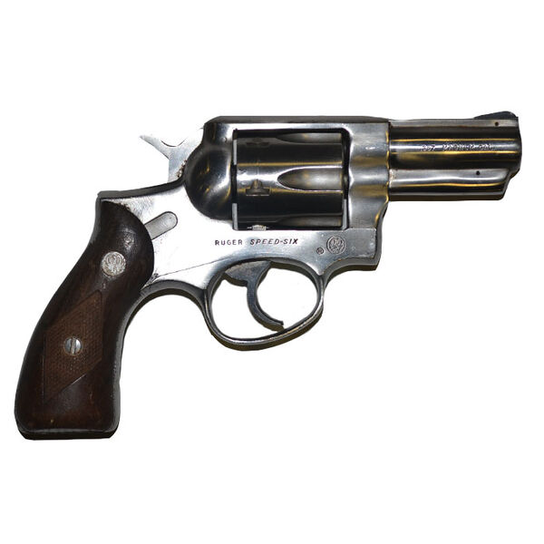 Used Ruger Speed Six Revolver, .357 Magnum
