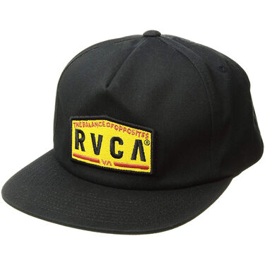 RVCA Men's Wrecking Crew Snapback Hat