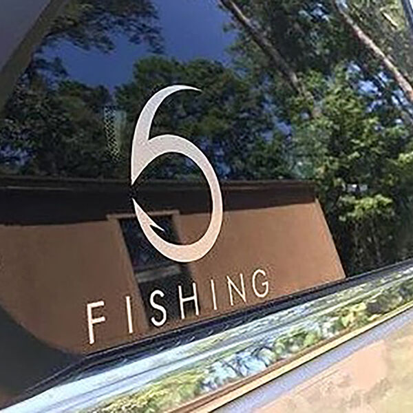 "6th Sense Fish Matrix Decal, 5"" x 5"""