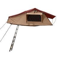 Trustmade Wanderer Softshell Rooftop Tent, Beige / Orange