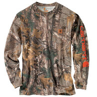 Carhartt Men's Workwear Graphic Camo Long-Sleeve Pocket Tee