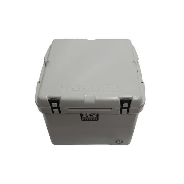 K2 Summit 60 Quart Cooler, Steel Gray