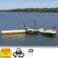 RAVE 15' Aqua Jump Eclipse 150 Water Park, Northwoods Edition