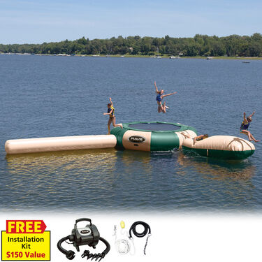 RAVE 20' Aqua Jump Eclipse 200 Water Park, Northwoods Edition