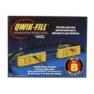 Qwik-Fill Single 12-Volt Battery Watering System