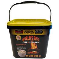 Qwick Wick Fire Starter, 65-Piece Bucket
