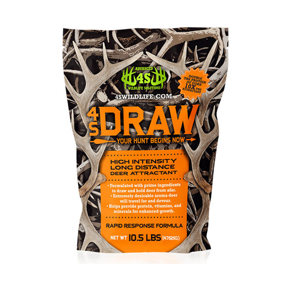 4S Draw Deer Attractant, 10.5 lbs.