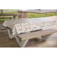 """Fishing Fun Tablecloth, 82"""" x 54"""""""